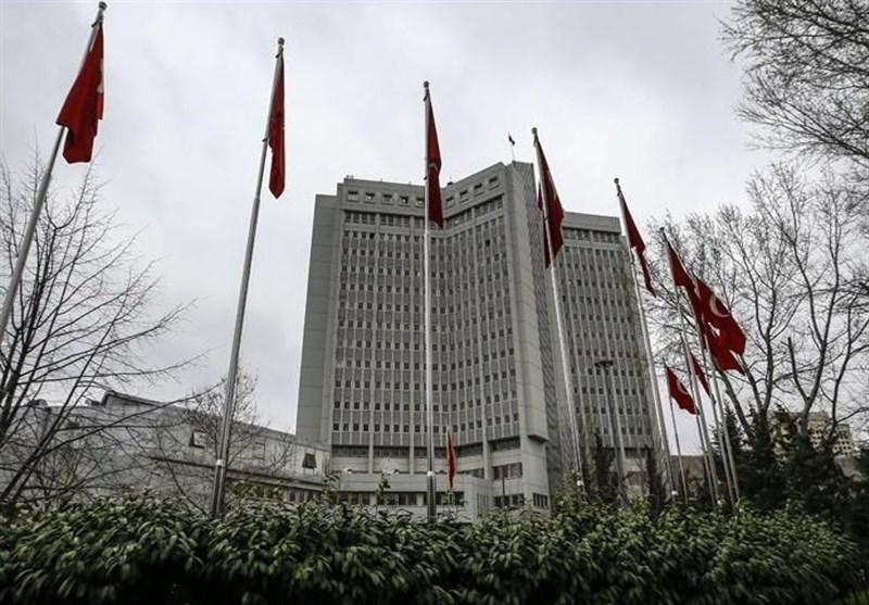 ترکیه مواضع وزیر خارجه آمریکا را محکوم کرد