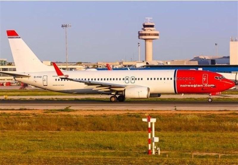 بوئینگ زمین گیر شده نروژی از شیراز پرواز کرد