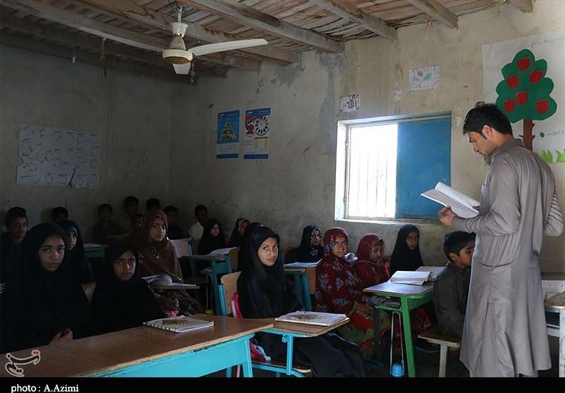سیستان و بلوچستان| آتش و ریزش همنشین همیشگی دانشآموزان محرومترین استان ایران+تصاویر