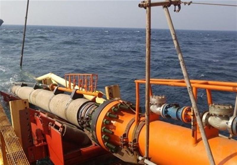 بوشهر| عملیات لولهگذاری دریایی فاز 23 پارس جنوبی به طول 100 کیلومتر اجرا شد