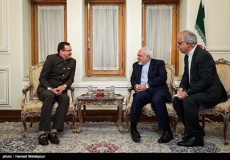 دیدار کارلوس آنتونیو الکالا کوردونس سفیر جدید ونزوئلا با محمدجواد ظریف وزیر امور خارجه