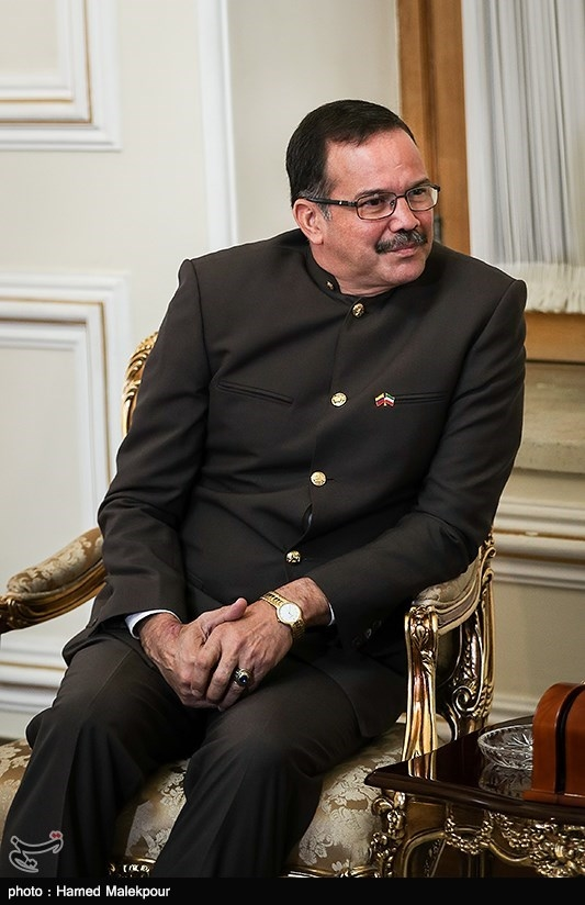 کارلوس آنتونیو الکالا کوردونس سفیر جدید ونزوئلا در دیدار با محمدجواد ظریف وزیر امور خارجه
