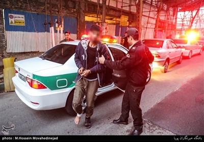 دستگیری سارق محله میرداماد