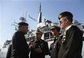 ناوگروه ارتش پاکستان در بندرعباس پهلو گرفت