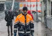 بارش برف و باران و غافلگیر شدن استانبول + عکس