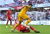 جام ملتهای آسیا| شکست یک نیمهای استرالیا مقابل اردن