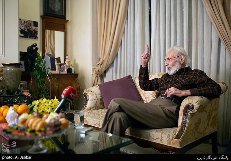 جمشید مشایخی: «هزار دستان» قرار بود قبل از انقلاب ساخته شود که نشد!/ماجرای دیدار مشایخی با تختی + فیلم و عکس