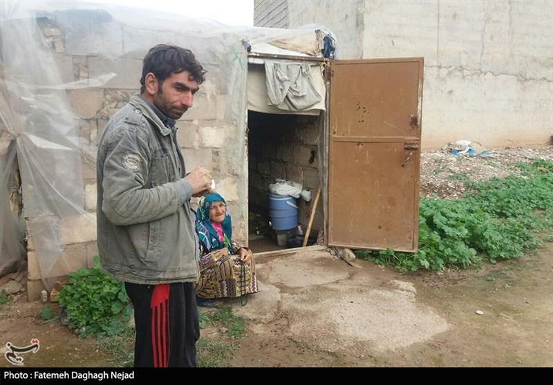 روایت تسنیم از زندگی مادر و پسر دزفولی در فرسنگها زیرخط فقر+ تصاویر