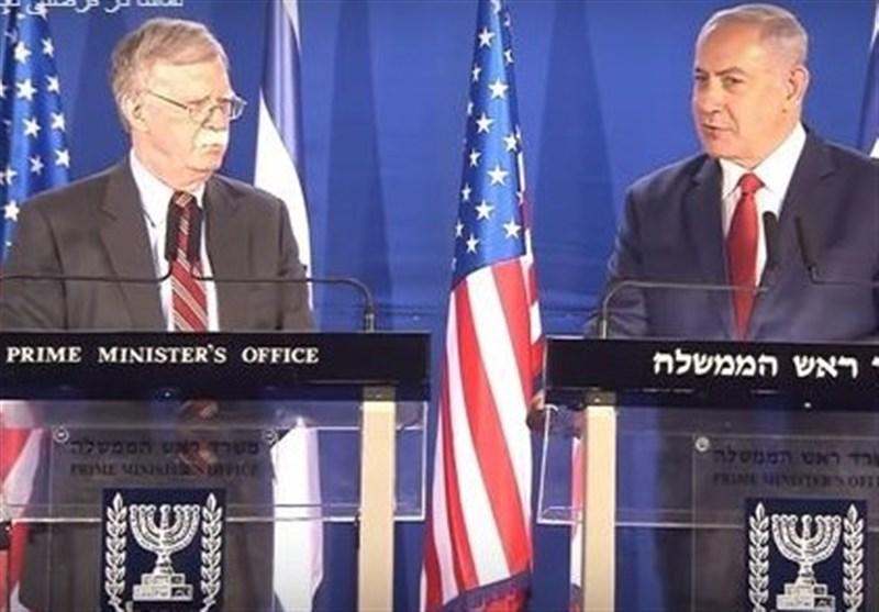 وعده بولتون به نتانیاهو درمورد سوریه
