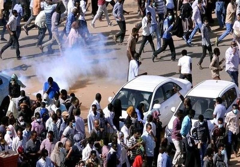 حمله پلیس سودان به معترضان در خارطوم