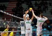 سری A1 والیبال ایتالیا| کاستلانا و وورنا شکست خوردند