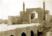 جزئیات کشف برج و باروی عصر صفویه حوالی دروازه عبدالعظیم تهران قدیم + تصویر
