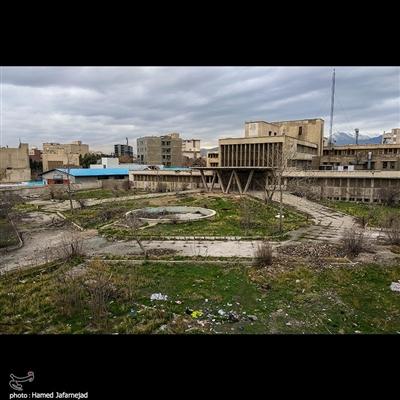 بیمارستان متروکه در تهران