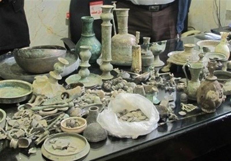 عتیقهجات ۳ هزار ساله در گلستان کشف شد