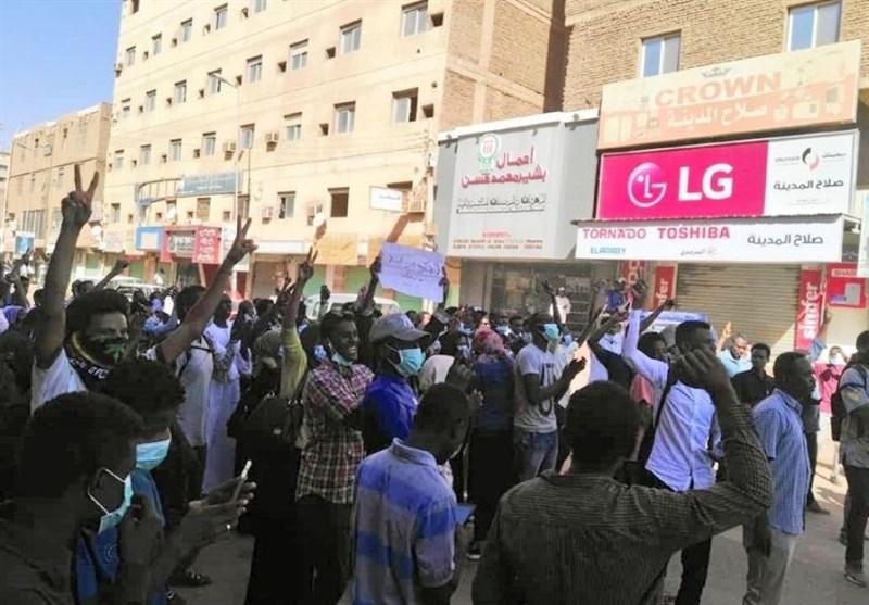 دستگیری 800 شهروند سودانی در تظاهرات ضددولتی