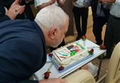 حاشیه های سفر به هند: جشن تولد ظریف در هواپیما+عکس