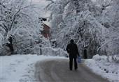 """آغاز بارش """"برف و باران"""" در استانهای غربی/ """"سفیدپوش"""" شدن بخش قابلتوجهی از کشور"""