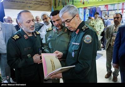 سرلشکر محمد باقری رئیس ستاد کل نیروهای مسلح در همایش سراسری مدیران بنیاد حفظ آثار و نشر ارزشهای دفاع مقدس