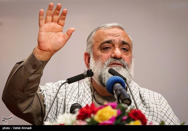 """سردار نقدی: انقلاب اسلامی با """"نه شرقی نه غربی"""" به 40 سالگی رسید"""