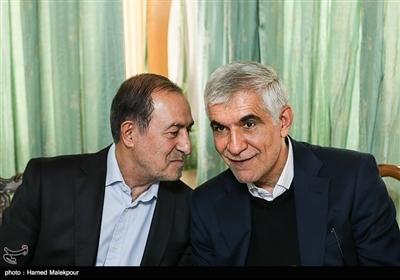 سیدمحمدعلی افشانی و مرتضی الویری در نشست مشترک شهرداران تهران در دوره انقلاب