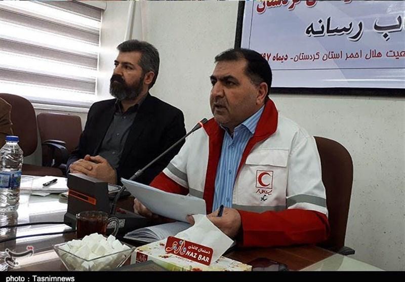 کردستان| انبار هلال احمر کامیاران غیراستاندارد و کیفیت لازم نگهداری اجناس را ندارد