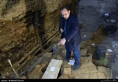 دروازه عبدالعظیم 500ساله تهران قدیم در عصر صفوی بیرون کشیده شد + تصاویر