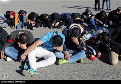 طرح دستگیری سارقان شهر تهران