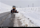 اردبیل| راه 130 روستای خلخال بازگشایی شد؛ 10 روستا همچنان در محاصره برف