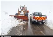 راهداران اردبیلی به 113 خودروی گرفتار در برف امدادرسانی کردند؛ بازگشایی 630 کیلومتر راه روستایی