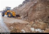 ریزش تونل جاده بابامیدان صحت ندارد؛ سقوط سنگ 50 تنی دلیل مسدود شدن جاده