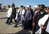 سفر یکروزه نماینده ولیفقیه در استان کرمان به قلعهگنج به روایت تصویر