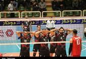 لیگ برتر والیبال| دیدار تیمهای شهرداری تبریز و پیام خراسان بهروایت تصویر