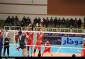 لیگ برتر والیبال| شهرداری تبریز مقابل شهروند اراک به پیروزی رسید