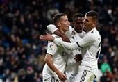 فوتبال جهان|رئال مادرید با برتری آسان خانگی به یک چهارم نهایی جام حذفی اسپانیا نزدیک شد
