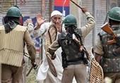 دستگیری دهها تن از مردم مظلوم کشمیر اشغالی توسط نظامیان هندی