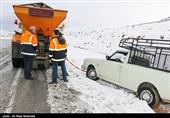 برف راه ارتباطی 100 روستای کهگیلویه و بویراحمد را مسدود کرد