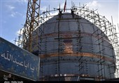 هنرنمایی استادکاران کرمانی در ساخت گنبد جدید حرم امام حسین(ع) / راز اجرای «پروژه معراج» توسط ایرانیها
