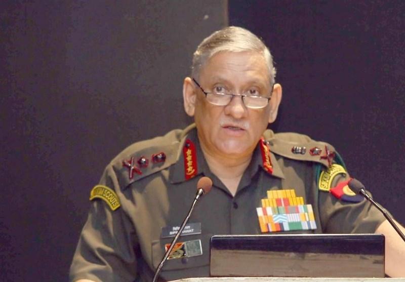 فرمانده ارتش هند: دهلینو باید با طالبان درباره صلح افغانستان مذاکره کند
