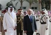 أمیر قطر یلتقی الرئیس العراقی فی الدوحة