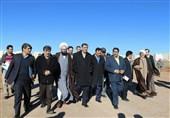 آغاز عملیات اجرایی چند پروژه در بندر امام خمینی با حضور وزیر راه