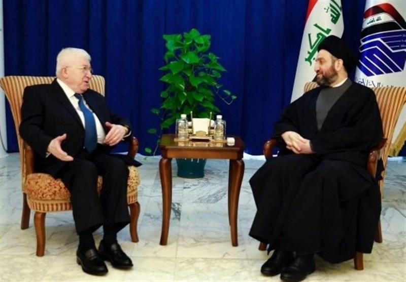 رایزنی حکیم و فواد معصوم درباره مشکلات موجود میان بغداد و اربیل