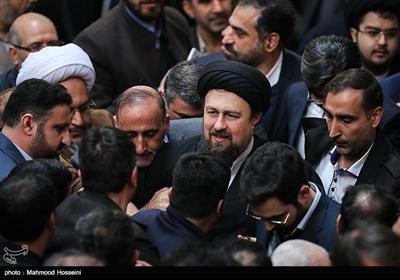 حجت الاسلام سیدحسن خمینی در آیین بزرگداشت دومین سالگرد رحلت آیت الله هاشمی رفسنجانی