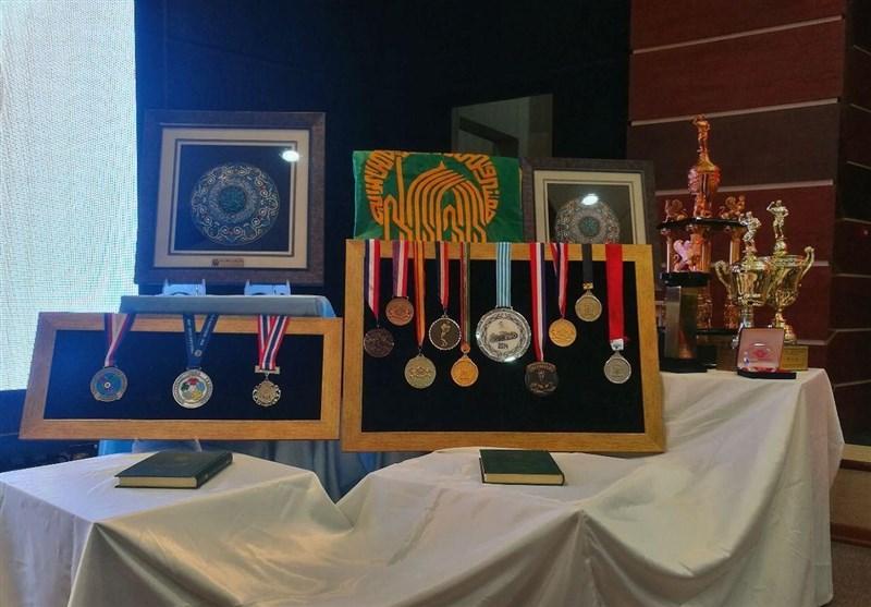تجلیل از مدالآوران جهانی و آسیایی استان همدان