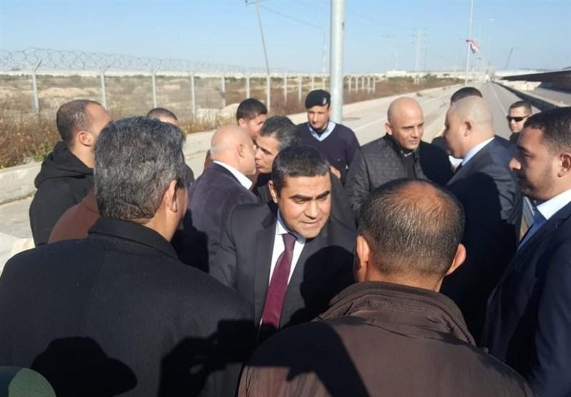 نشست رهبران حماس با هیئت امنیتی مصر در غزه