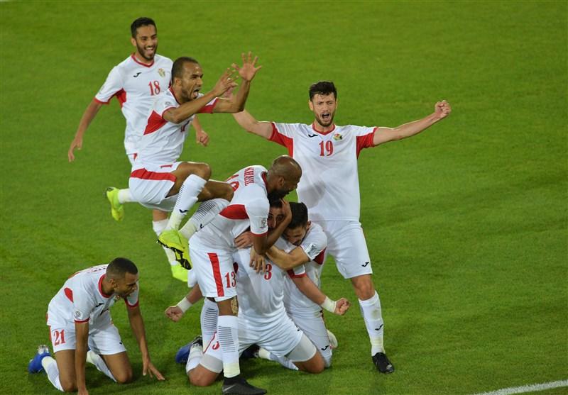 جام ملت های آسیا صعود اردن به مرحله یک هشتم نهایی با برتری مقابل سوریه