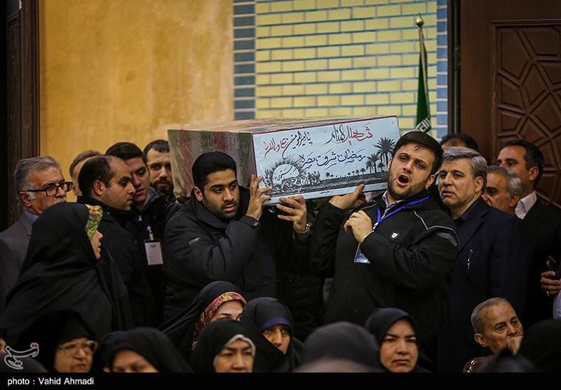 شهید گمنام 20 ساله میهمان یادواره مسجد اباذر شد+تصاویر