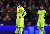 فوتبال جهان|شکست خفیف بارسلونا و برتری خارج از خانه سویا در جام حذفی اسپانیا
