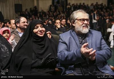 نادر طالب زاده در اختتامیه نهمین جشنواره مردمی فیلم عمار