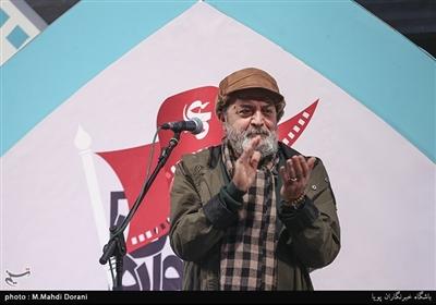سیروس مقدم در اختتامیه نهمین جشنواره مردمی فیلم عمار
