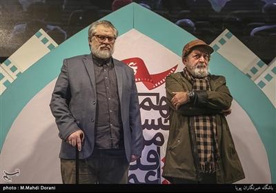 سیرویس مقدم و نادر طالب زاده در اختتامیه نهمین جشنواره مردمی فیلم عمار